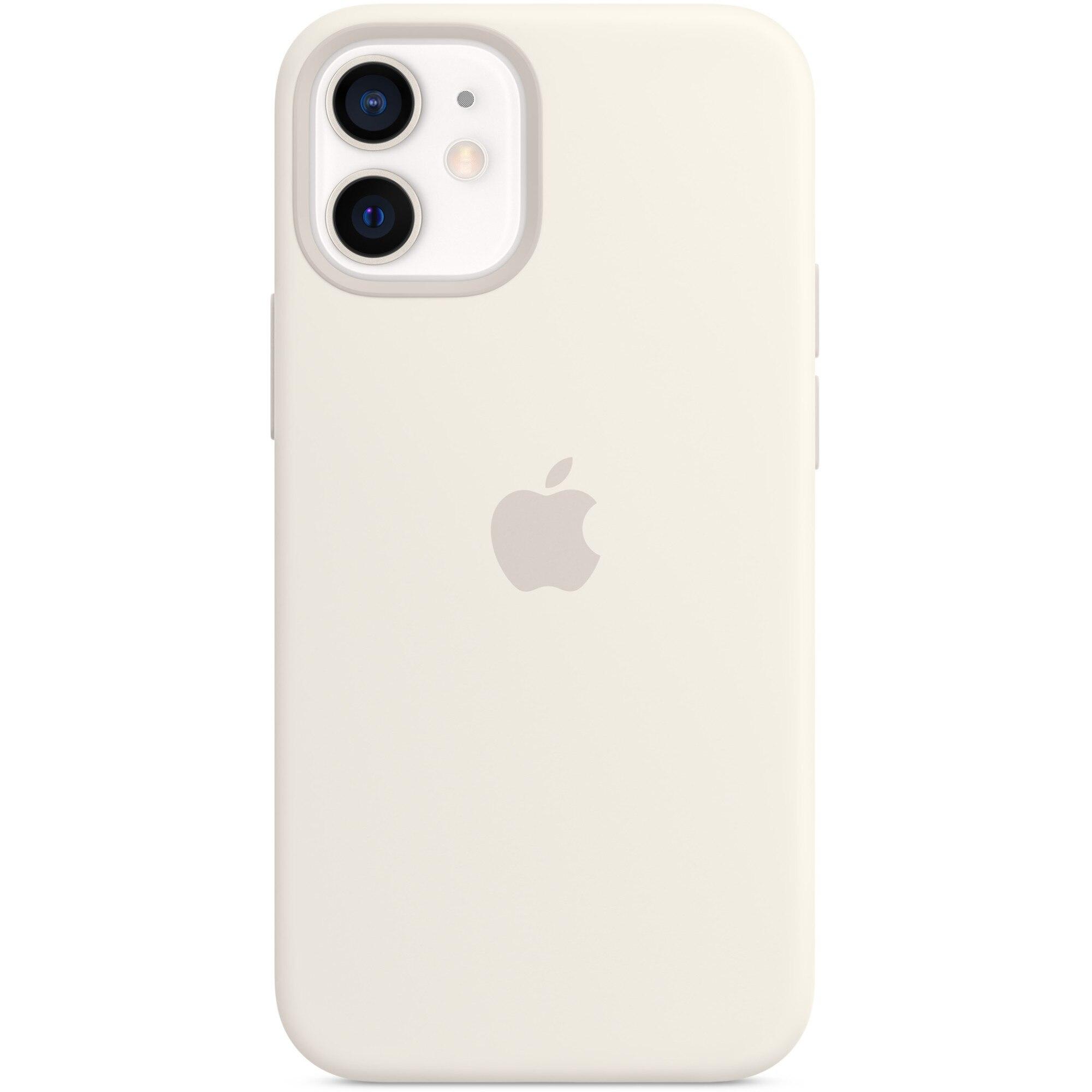 Fotografie Husa de protectie Apple Silicone Case MagSafe pentru iPhone 12 mini, White