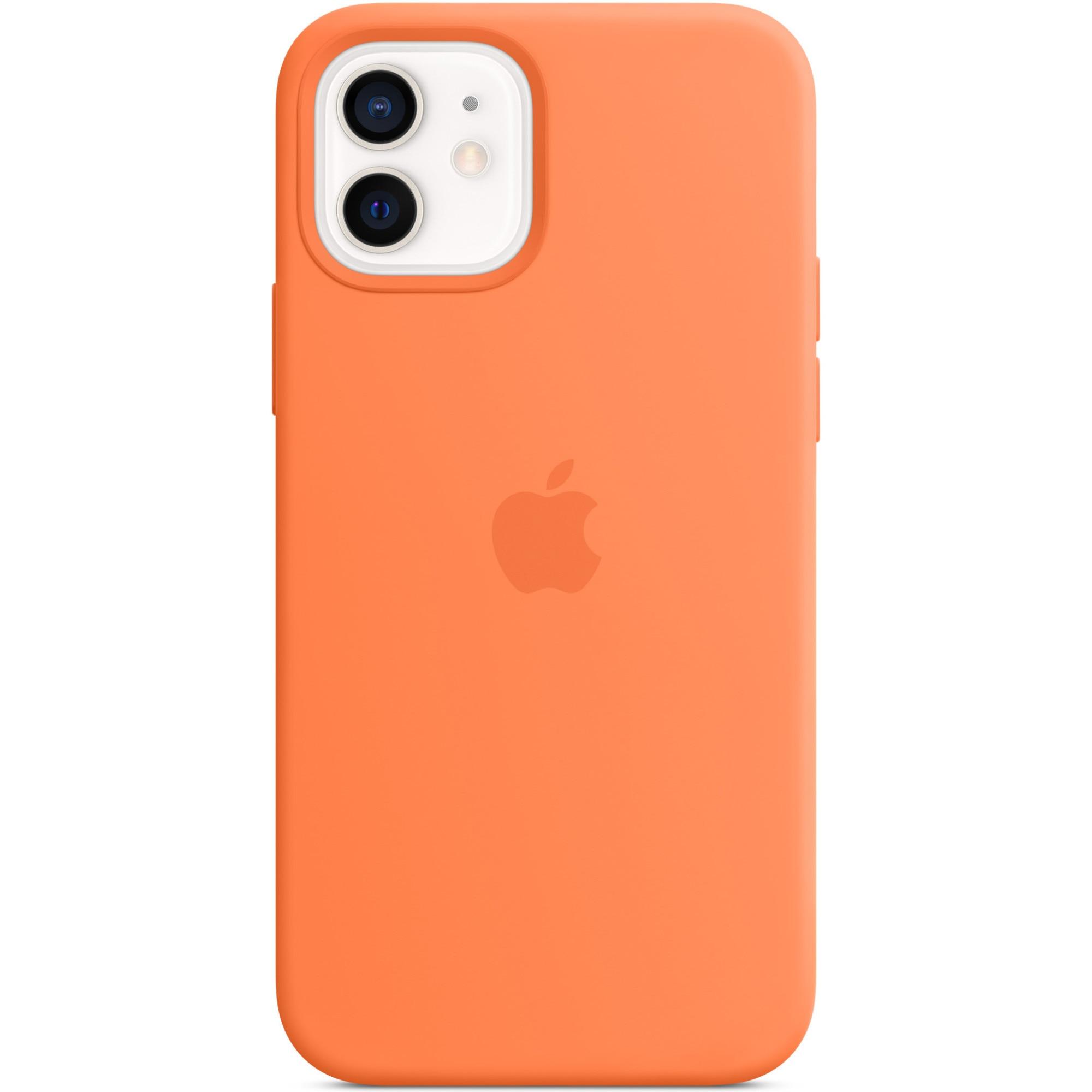 Fotografie Husa de protectie Apple Silicone Case MagSafe pentru iPhone 12/12 Pro, Kumquat