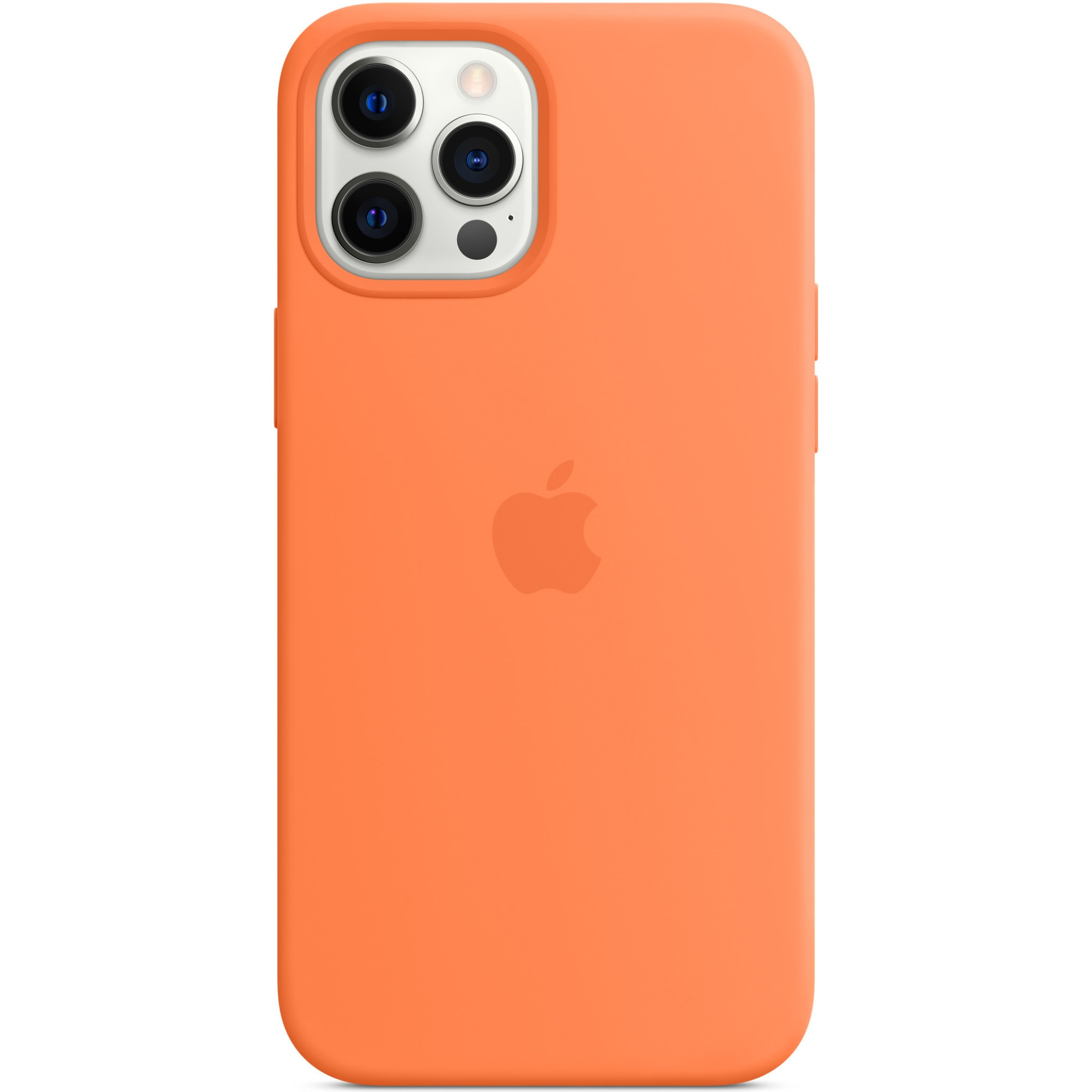 Fotografie Husa de protectie Apple Silicone Case MagSafe pentru iPhone 12 Pro Max, Kumquat