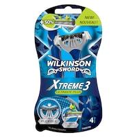 Wilkinson Xtreme 3 Ultimate Plus Borotva, 4 darab