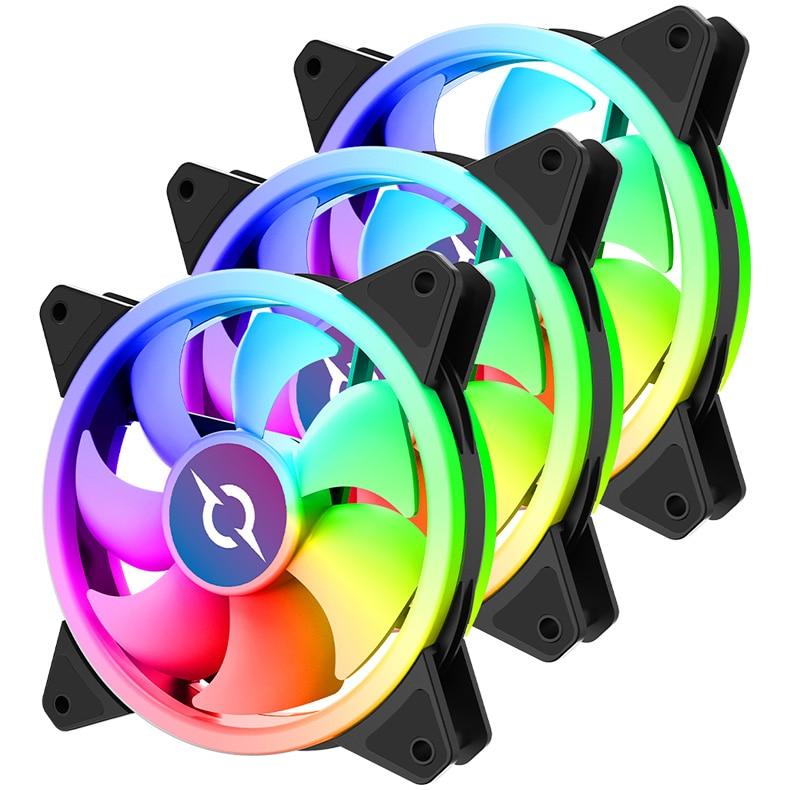 Fotografie Ventilator AQIRYS Aries 3-Fan Kit
