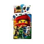Lego Ninjago ágyneműhuzat kétoldalú 140x200cm 70x90cm