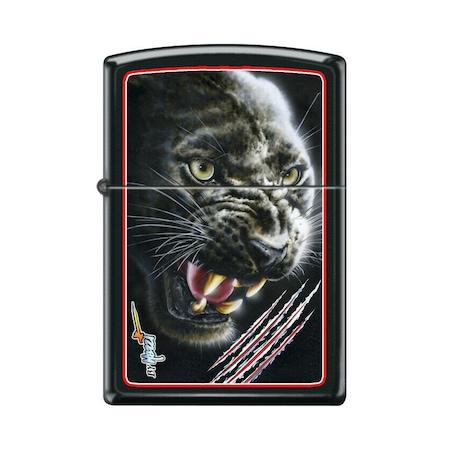 Zippo 9110 Claudio Mazzi - Black Panther öngyújtó