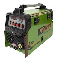 Hegesztő inverter MIG/MAG/MMA, Procraft SPH-310P, 310 A, Elektróda átmérője 1.6mm - 4mm + Heliomat hegesztő maszk