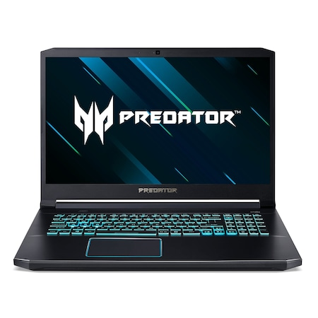 Лаптоп Acer Predator PH317-54-79BB Helios 300 с Intel Core i7-10750H (2.6/5GHz, 12M), 32 GB, 1TB SATA 7200rpm, 512GB M.2 NVMe SSD, NVIDIA RTX 2070 Max-Q - 8GB, Windows 10 Home 64-bit, черен