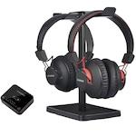Bluetooth Avantree HT41899 fejhallgató Bluetooth adóval, fekete
