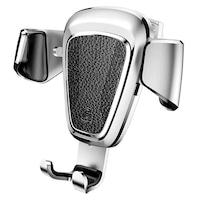 """Baseus Gravity Autós tartó Alumínium Phone Bracket Air Vent Holder 4-6"""" Devices ezüst"""