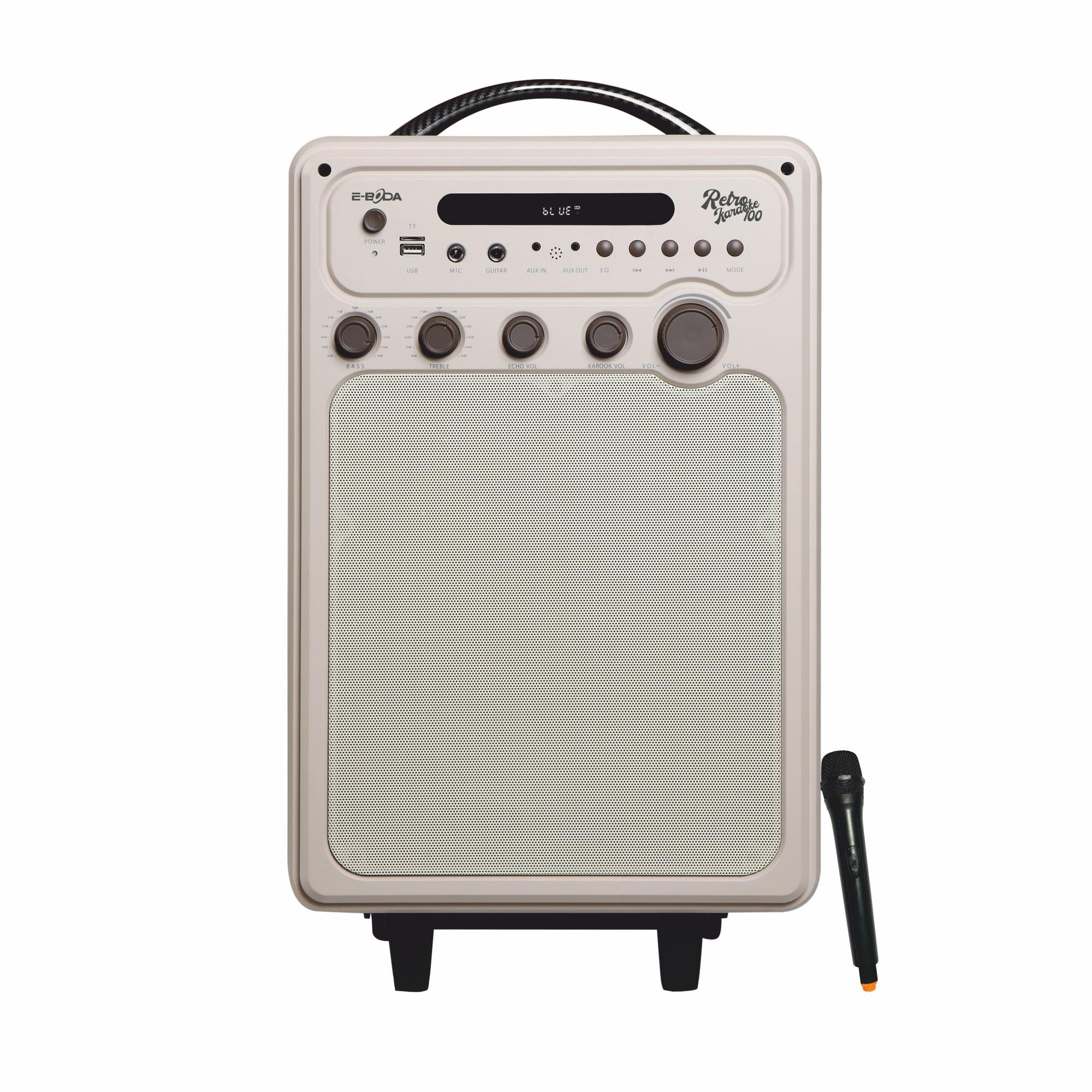 Fotografie Boxa portabila E-BODA Retro Karaoke 100