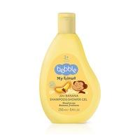 Bebble 2 az 1-ben Banán sampon és tusfürdő 250ml
