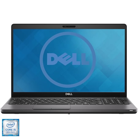 "Лаптоп DELL Latitude 5500, 15.6"", Intel® Core™ i5-8365U, RAM 16GB, SSD 512GB, Intel® UHD 620 Graphics, Ubuntu, Black"