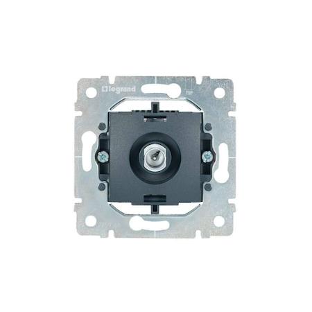 Legrand Galea Life TV antenna-csatlakozóaljzat mechanizmus, végzáró, 1,5 dB, 775965