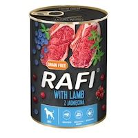 Консервa за кучета Rafi Adult с агне и боровинки, 800гр