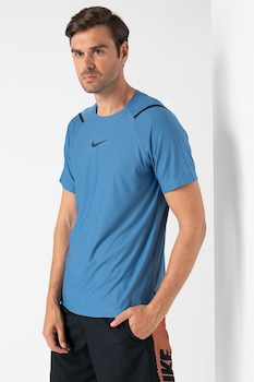 Nike, Dri Fit sportpóló, Sötétkék/Fekete