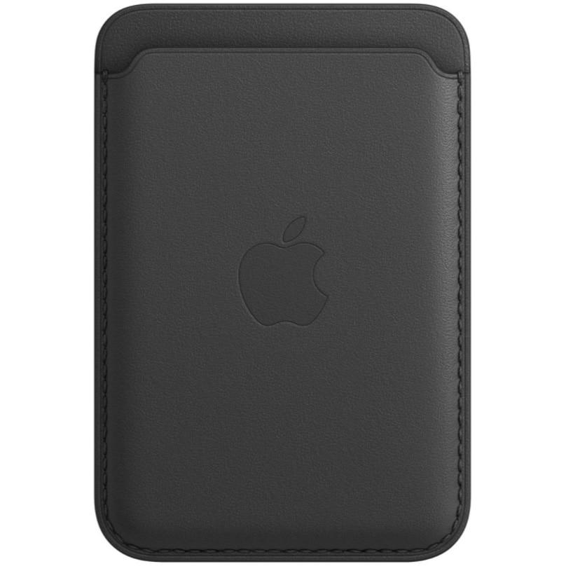 Fotografie Husa de protectie Apple Leather Wallet MagSafe pentru iPhone, Black