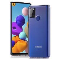 Силиконов калъф Case за Samsung Galaxy A21S, Прозрачен