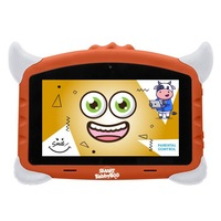 Детски таблет SMART TabbyBoo, 7 inch, Четириядрен Android 8.1, 1GB RAM, 16GB, WI-Fi, Оранжев
