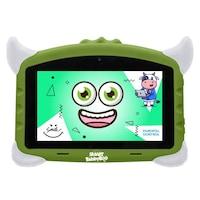 Детски таблет SMART TabbyBoo, 7 inch, Четириядрен Android 8.1, 1GB RAM, 16GB, WI-Fi, Зелен