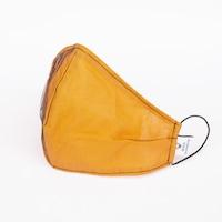 3 rétegű mosható textil karácsonyi maszk G3 szűrővel - Orange shade- M (női) méret