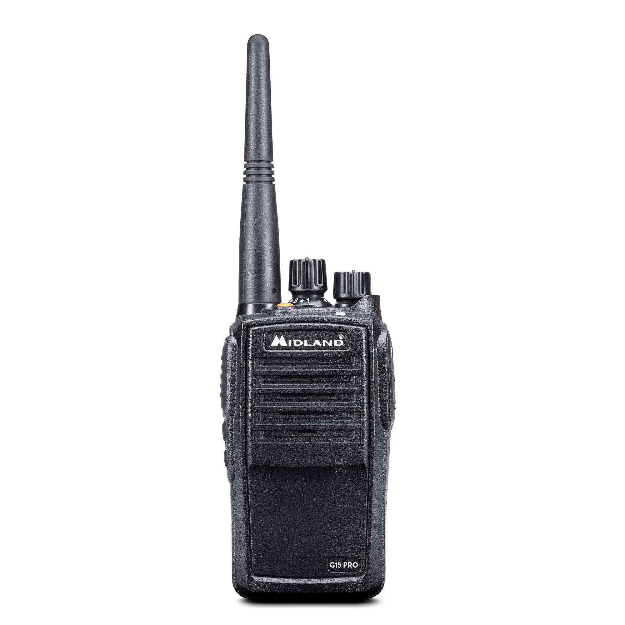 Fotografie Statie radio PMR portabila Midland G15 Pro waterproof IP67 Cod C1127.03