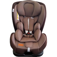 Scaun Auto Baby Care™ Safety Seat, Transformabil in scoica auto, 0-18 kg, Spatar reglabil in 4 trepte, Centura de siguranta cu prindere in 5 puncte, Husa detasabila, Maron