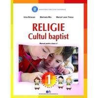 Religie cultul baptist manual pentru clasa I, autor Irina Briscan