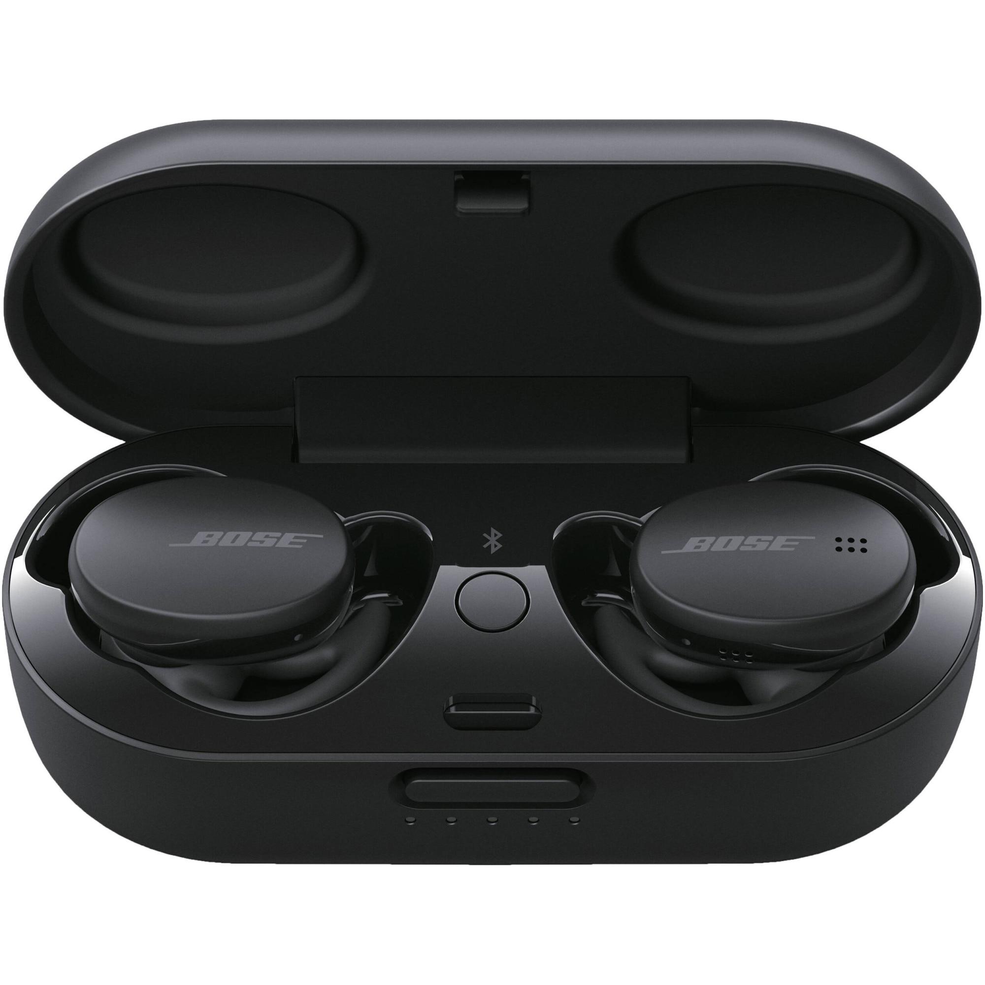 Fotografie Casti Audio Sport In Ear Bose Earbuds, True Wireless, Bluetooth, Noise cancelling, Microfon, Autonomie 5 ore, Black