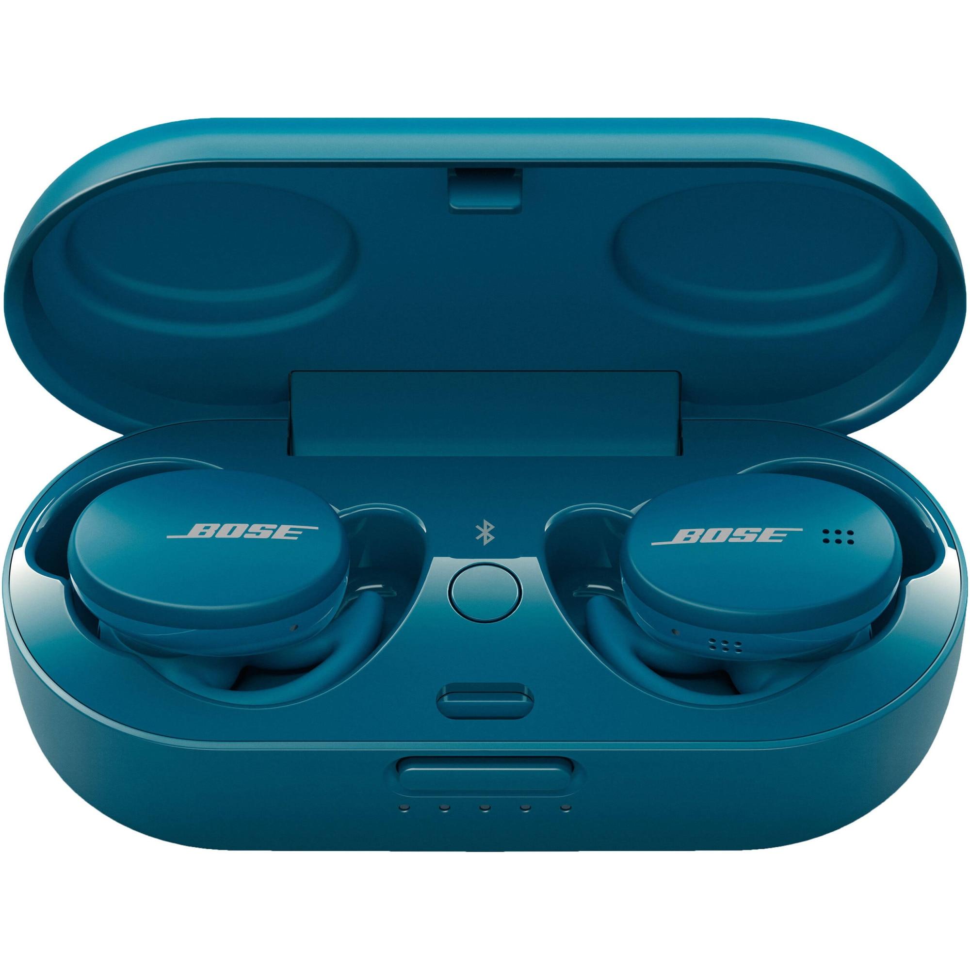 Fotografie Casti BOSE Sport Earbuds, True Wireless, Bluetooth, Microfon, Baltic Blue