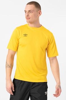 UMBRO, Kerek nyakú póló texturált hatással, Sárga, S