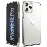 Калъф Ringke Fusion PC Case TPU Bumper за iPhone 12 Pro / iPhone 12, Прозрачен