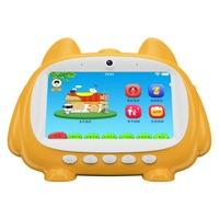 Детски таблет SMART TabbyBoo, 7 inch, Stereo Quad-Core, Android 4.4, 1GB RAM, 16GB ROM, Wi-Fi, Предна камера, С 1 микрофона, Жълт