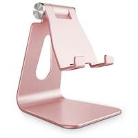 TECH PROTECT Z4a - univerzális asztali fém telefontartó állvány, pink