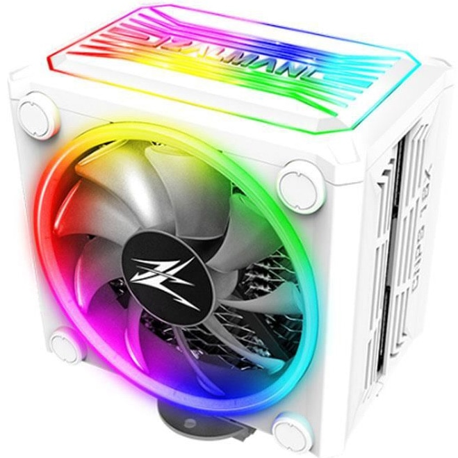 Fotografie Cooler Procesor Zalman CNPS16X WHITE RGB, compatibil AMD/Intel