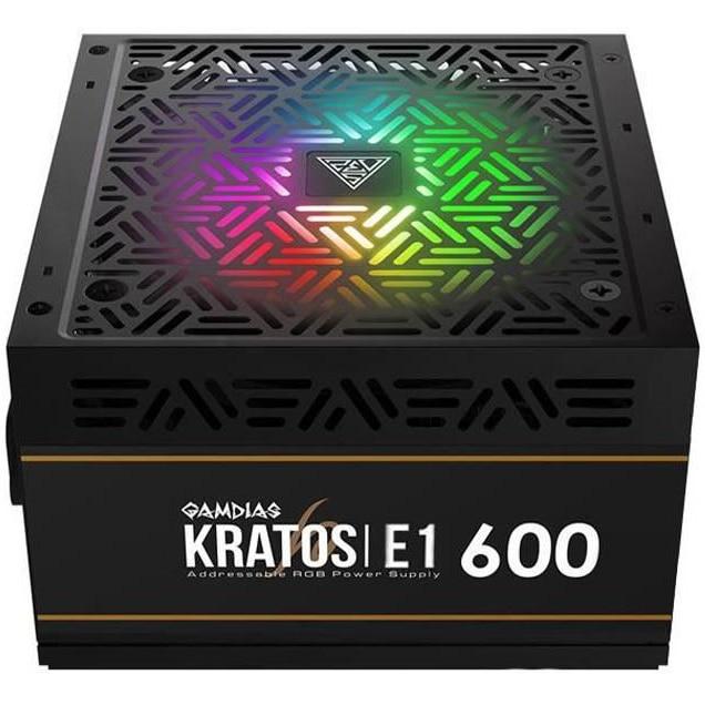 Fotografie Sursa Gamdias Kratos E1, 80 PLUS®, 600W