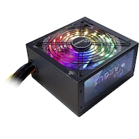Inter-Tech Argus RGB-600 II tápegység, 80 PLUS® Bronze, 600W