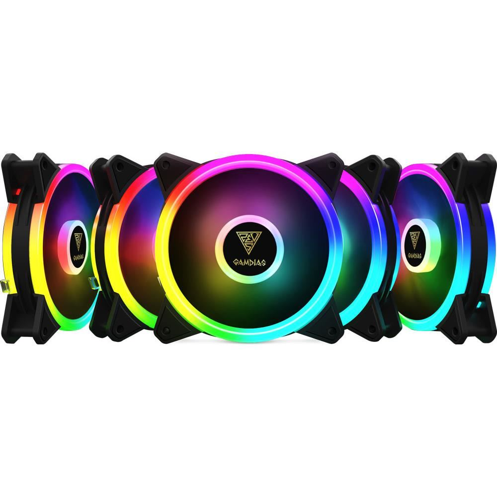 Fotografie Ventilator Gamdias Aeolus M2 1205R RGB, 120mm