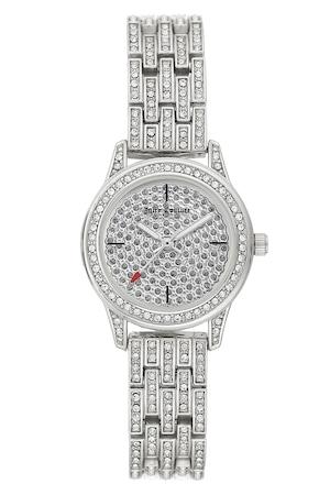 Juicy Couture, Иноксов часовник с кристали, Сребрист