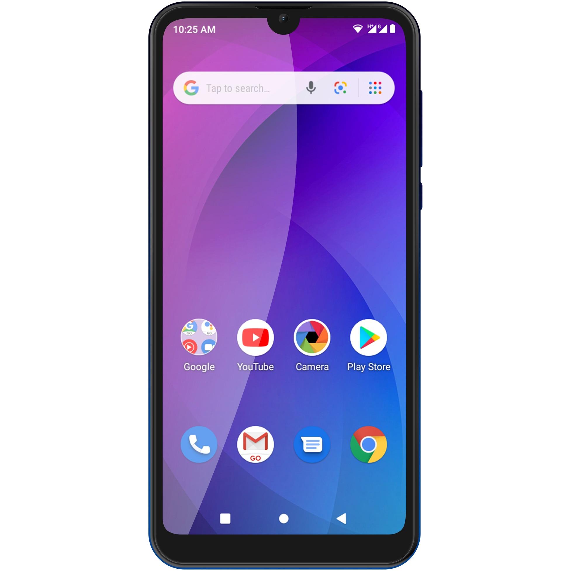 Fotografie Telefon mobil Allview A20 Max, Dual SIM, 16GB, 3G, Blue Gradient