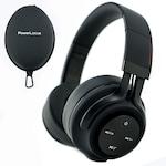 PowerLocus P3 Bluetooth fejhallgató,40 óralejátszási idő, ,vezeték nélküli fül köré illeszkedő összehajtható - Matt Fekete