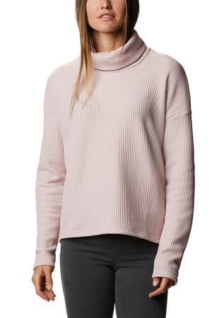 Columbia, Chillin garbónyakú pulóver ejtett ujjakkal, Púder rózsaszín