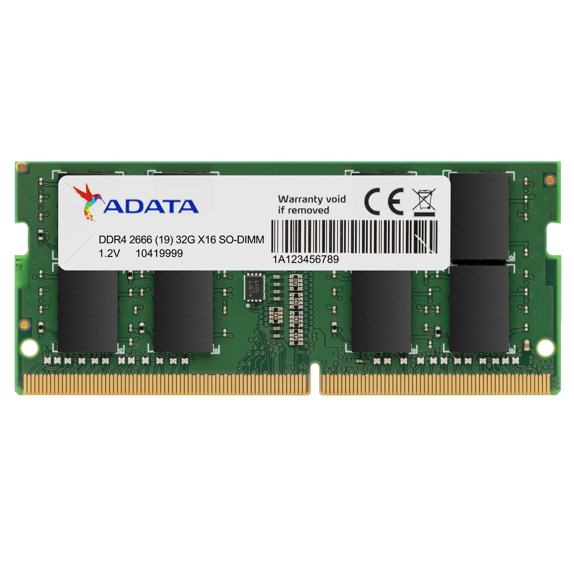 Fotografie Memorie Laptop ADATA Premier, 4GB DDR4, 2666MHz CL19