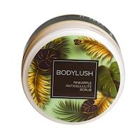 Антицелулитен скраб за тяло Body Lush, Pineapple Anticellulite Scrub, с ананас и гуарана, 250 ml