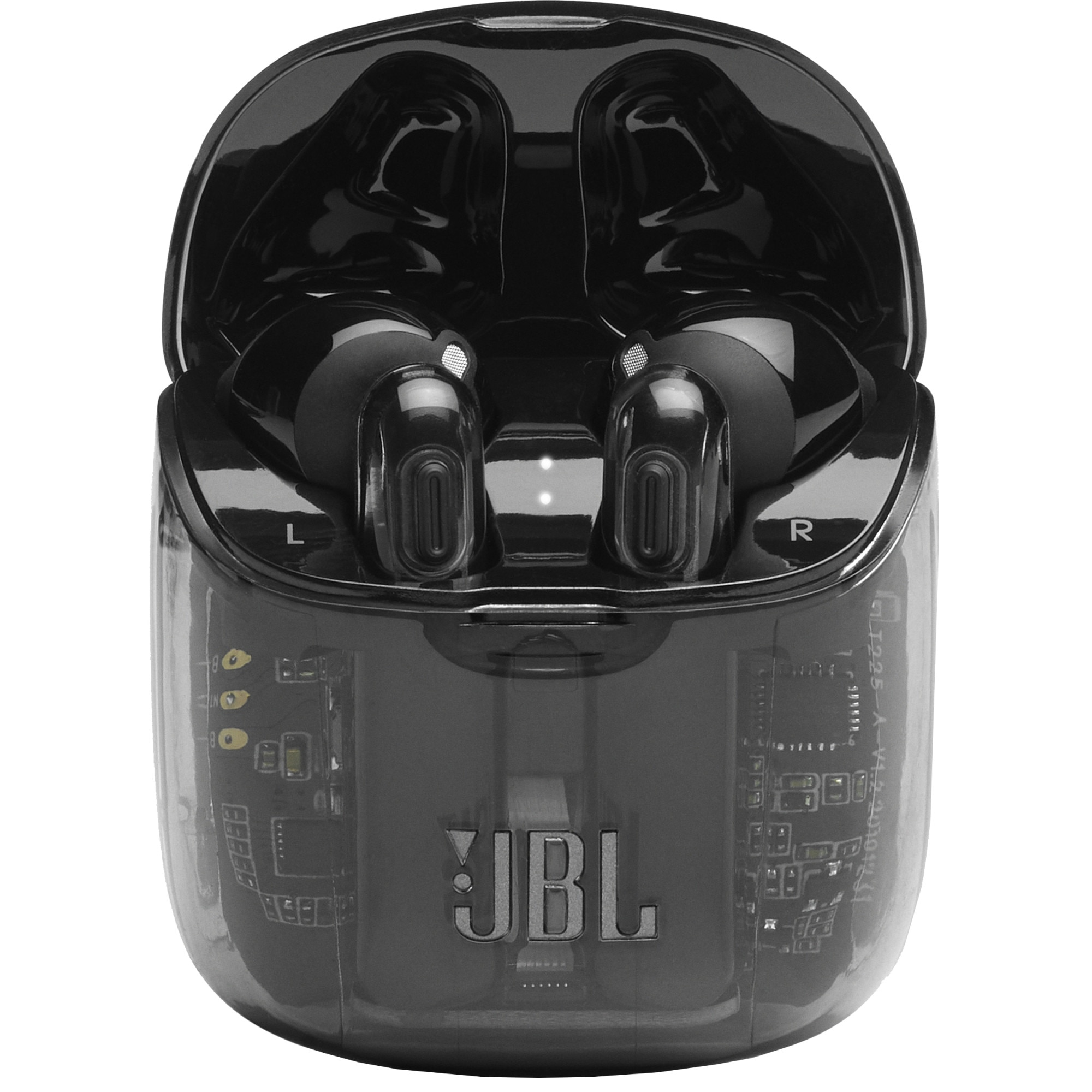 Fotografie Casti Audio In ear JBL Tune 225TWS, True wireless, Bluetooth, Functie bass, Autonomie 25 ore, Negru