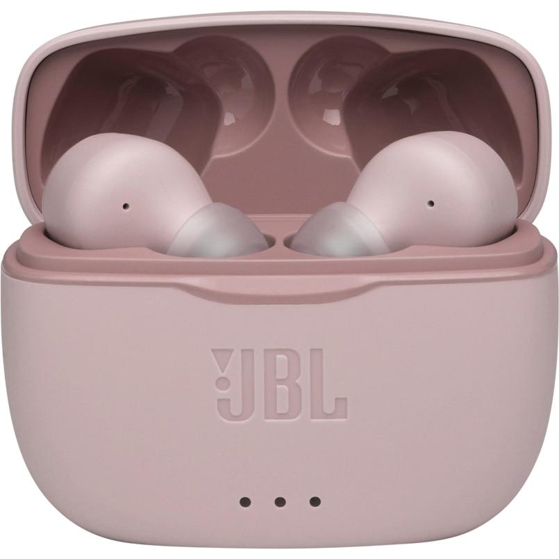 Fotografie Casti audio in-ear JBL TUNE 215TWS, Bluetooth, Microfon, Pure Bass, True Wireless, Roz