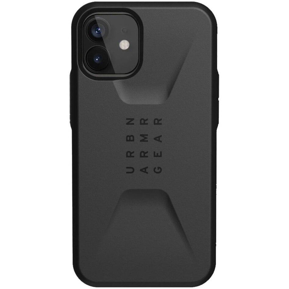 Fotografie Husa de protectie UAG Civilian Series pentru iPhone 12 / 12 Pro, Black