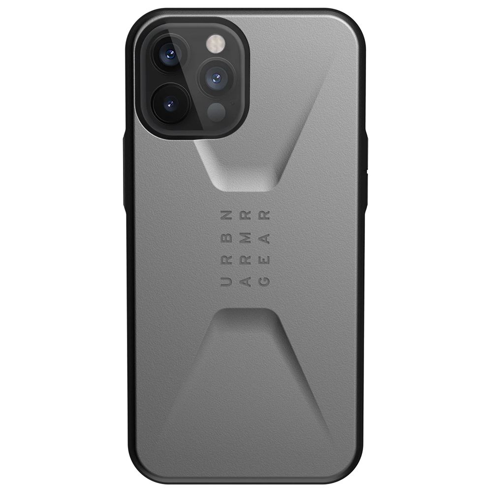 Fotografie Husa de protectie UAG Civilian Series pentru iPhone 12 Pro Max, Silver