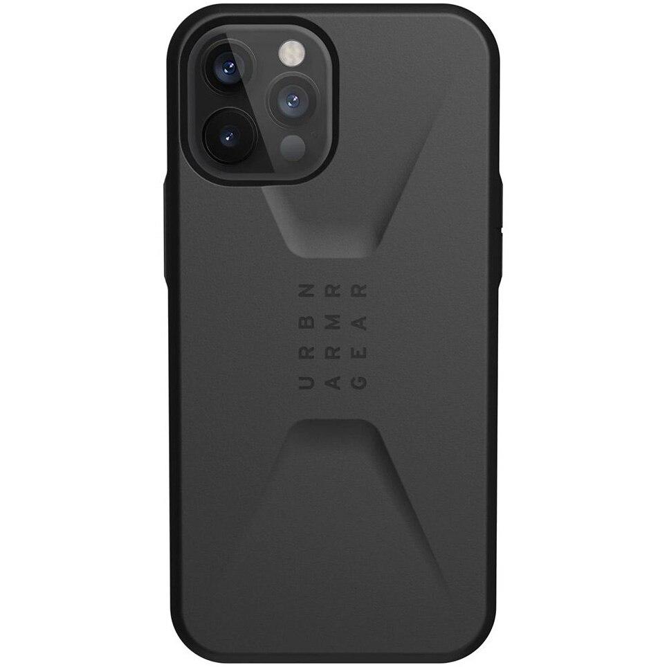 Fotografie Husa de protectie UAG Civilian Series pentru iPhone 12 Pro Max, Black