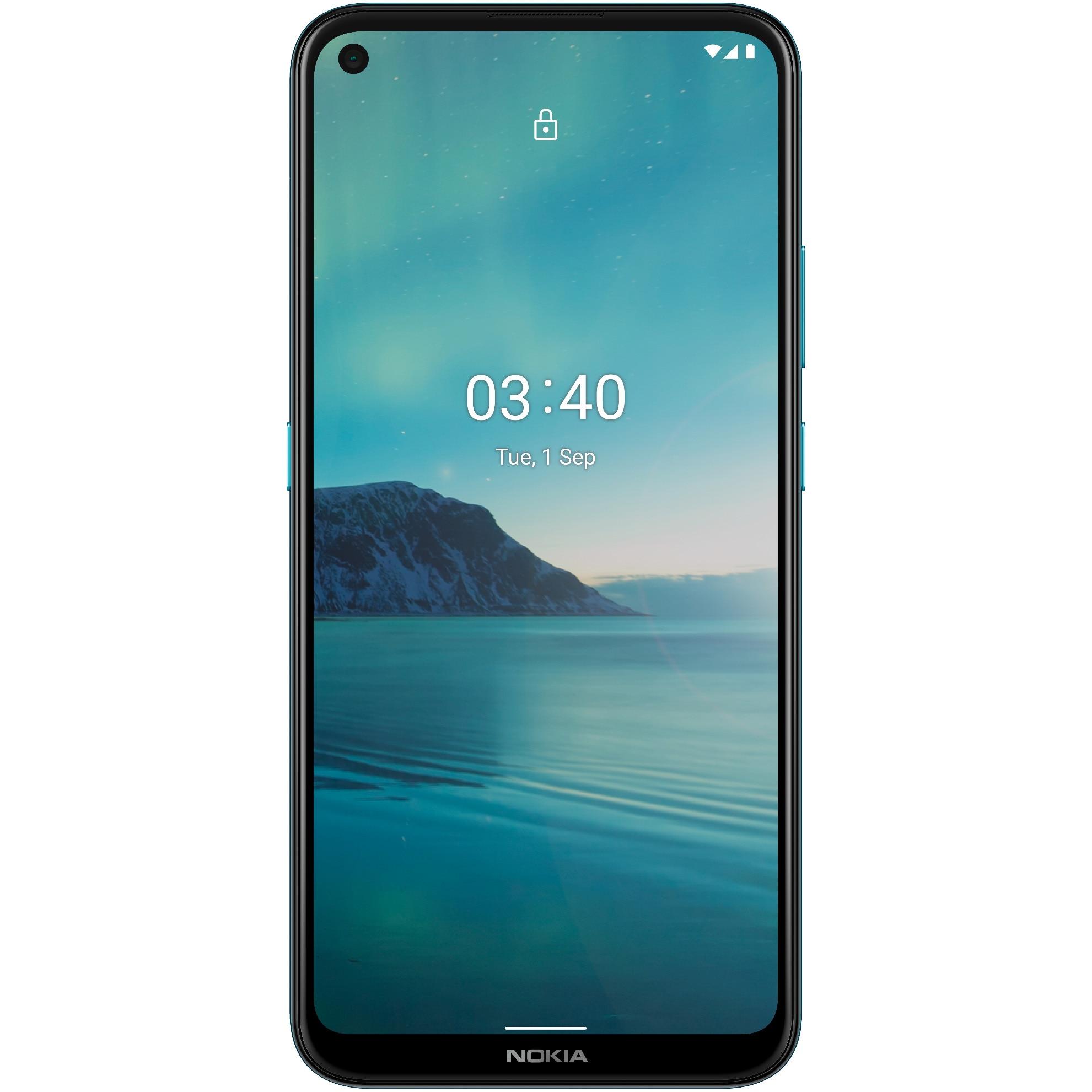 Fotografie Telefon mobil Nokia 3.4, Dual SIM, 64GB, 4G, Blue