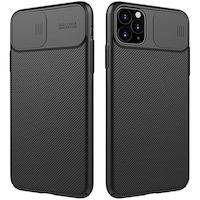Гръб Nillkin за Iphone 12, 12 Pro, camshield, Черен