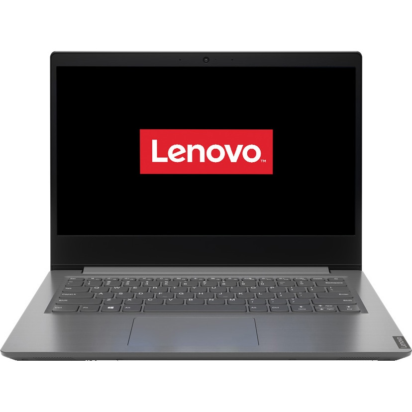 "Fotografie Laptop ultraportabil Lenovo V14 ADA cu procesor AMD Ryzen 3 3250U pana la 3.50 GHz, 14"", HD, 4GB, 1TB HDD, AMD Radeon Graphics, Free Dos, Iron Grey"
