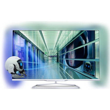 Tелевизор LED 3D Philips, 107 cм, Full HD, 42PFL7108